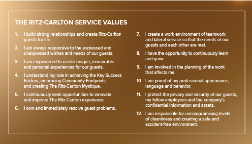 Ritz-Carlton-Customer-Service-Values
