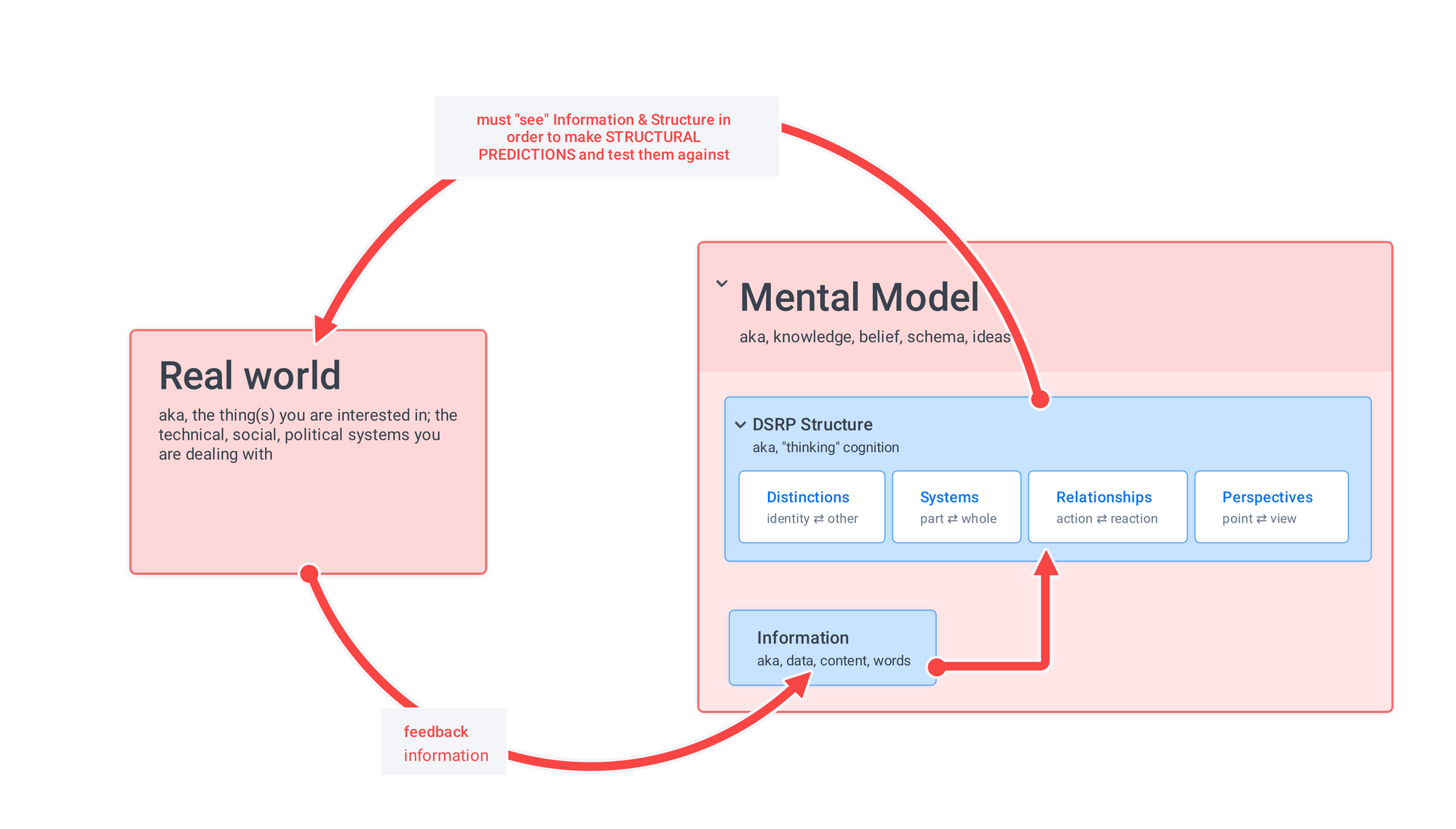 DSRP is how mental models are built