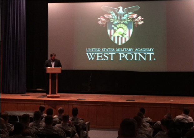 Cabrera talks systems thinking, solving complex problems at West Point